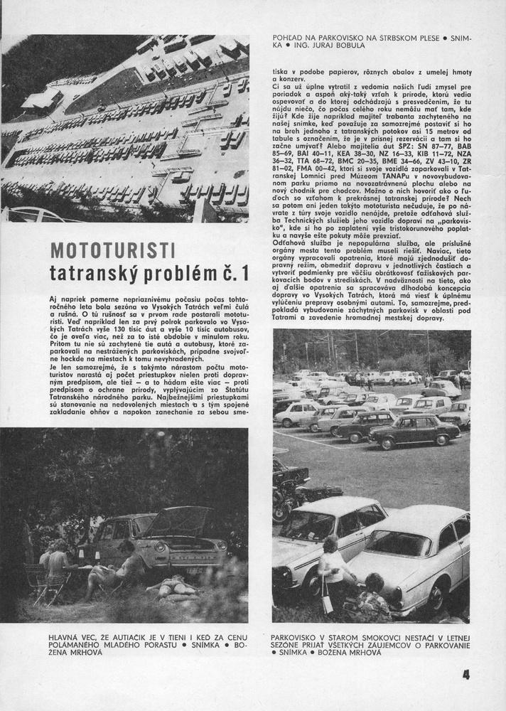 Vysoke Tatry v roku 1977