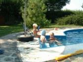 Víkednový domček s bazénom - Trstice #13