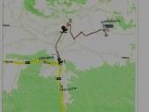 mapka príjazdovej trasy