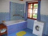Kúpelňa - vaňa a práčka