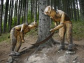 Lesnícky skanzen vo Vydrove