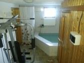 Sauna / ochladzovaci bazenik / sprcha / pos. stroj