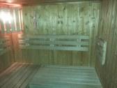 Interier sauny