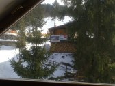 Pohľad z okna na svah