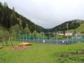 futbalové ihrisko v obci Vyšná Boca