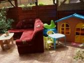 Posedenie + detský kútik