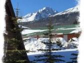 Výhľad na Gerlachovský štít v zime