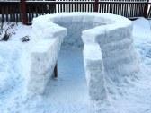 zimné výtvory- IGLU