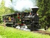 Historická železnička vo Vychylovke