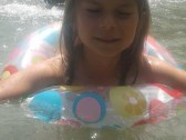 Teplota vody v jazierku  32°C.