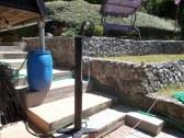 Solárna sprcha vedla chaty