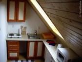 kuchynský kútik v podkroví