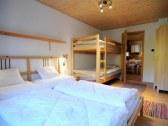 Spodný apartmán - spálňa