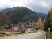 vstup do obce Vyšná Boca