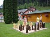 šachy v kúpeľoch Lúčky