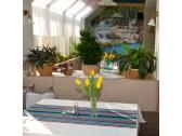 Interiér jednej z častí reštaurácie