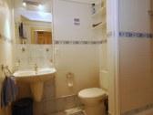 Veľký apartmán - modrá spálňa: kúpeľňa