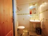 Veľký apartmán - zelená spálňa: kúpeľňa