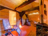 chata Zinka odpočinková miestnosť wellness