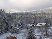 Zimná panoráma Javorníkov