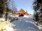 Prístup do areálu v zime