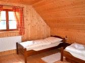 Izba v podkroví - 2x1 lôžko + prístelka