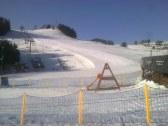 zasnežené lyžiarske stedisko Donovaly