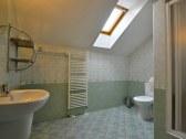 Kúpeľňa v dvojlôžkovej izbe