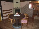 spoločenská miestnosť-veľká časť chaty