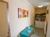 Kuchynka v štúdiu bez terasy