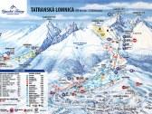 Mapa Tatr. Lomnica