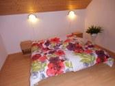 spálňa chatka