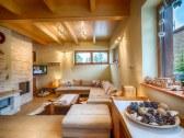 Spoločenská časť - obývačka