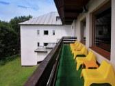 chata terasa z reštaurácie