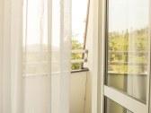 Balkón hotelovej izby