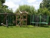 Hojdacky s trampolinou