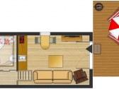 Tiny house Olívia - Podtureň #8