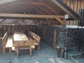 Zastrešený altánok – varenie guľášu a grilovanie