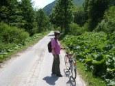 Ľubochn.dolina 14 km,raj pre bicyklistov