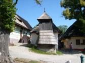Vlkolínec 10 km ,zapísaný do zoznamu UNESCO,dreven