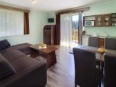 apartmán Garden - obývačka