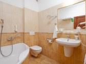 kúpelňa - hotelová izba