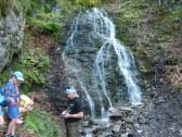 Čutkovská dolina.5 km,Jamišné vodopády
