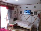 4-lôžková izba, 1. poschodie, TV, balkón