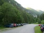 Parkovisko pred Kvač.dolinou 27 km