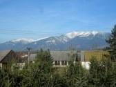 pohľad z balkóna na Západné Tatry
