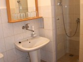 Penzión** Korzika, kúpeľňa