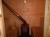 sauna - pod terasou