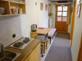 Kuchynka apartmán A
