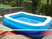 Detský bazén .vedľa chaty